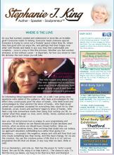 Stephanie J King newsletter